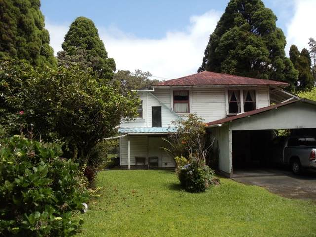 19-4008 Kilauea Rd, Volcano, HI 96785 (MLS #650516) :: LUVA Real Estate