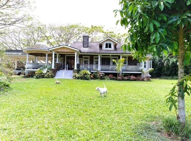 4691 Wailapa Rd, Kilauea, HI 96754 (MLS #650751) :: Kauai Exclusive Realty