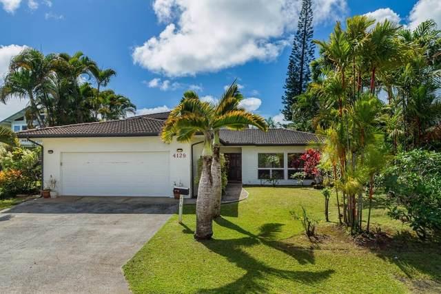 4129 Rooke Pl, Princeville, HI 96722 (MLS #651073) :: Kauai Exclusive Realty