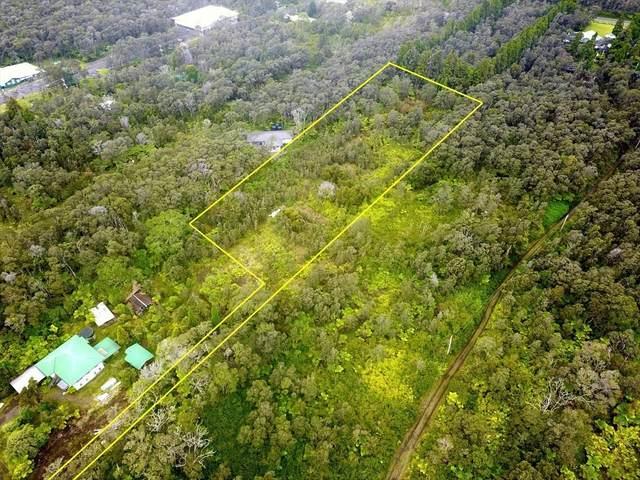 Kilauea Rd, Volcano, HI 96785 (MLS #652640) :: LUVA Real Estate