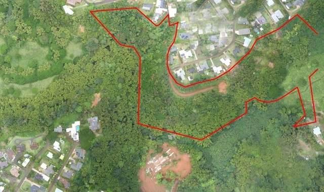 Kapena Road, Lihue, HI 96766 (MLS #654355) :: Corcoran Pacific Properties