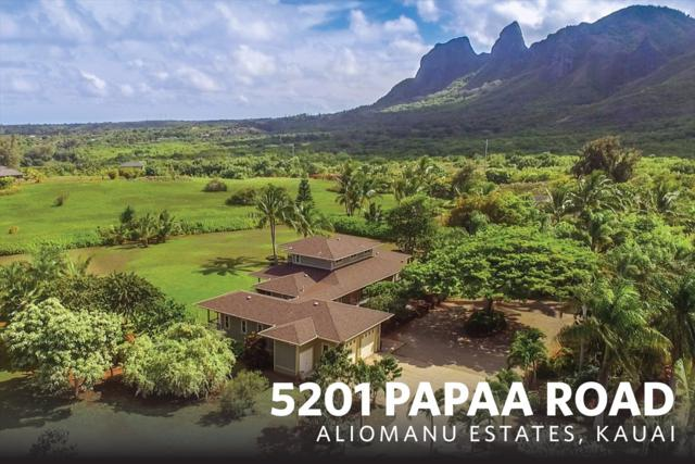 5201 Papaa Rd, Anahola, HI 96703 (MLS #610773) :: Kauai Exclusive Realty