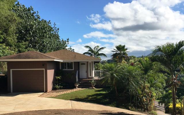 4856 Hauaala Rd, Kapaa, HI 96746 (MLS #628592) :: Kauai Exclusive Realty