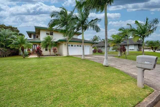 2451 Kanio St, Lihue, HI 96766 (MLS #636800) :: Aloha Kona Realty, Inc.