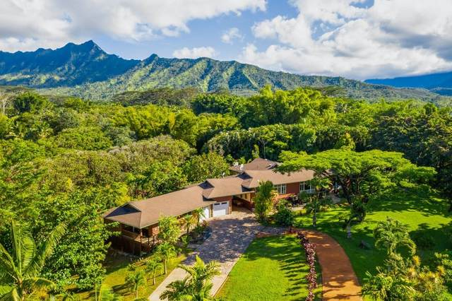6213 Kahiliholo Rd, Unita, Kilauea, HI 96722 (MLS #642601) :: Iokua Real Estate, Inc.