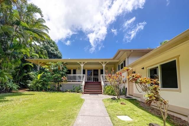 3834 Haulani Pl, Princeville, HI 96722 (MLS #650266) :: Kauai Exclusive Realty