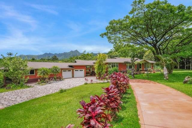 6213 Kahiliholo, Kilauea, HI 96754 (MLS #651747) :: LUVA Real Estate