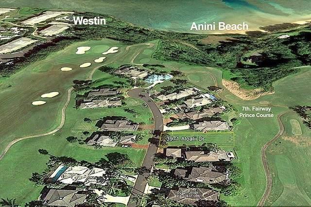 3971 NS Aloalii Dr, Princeville, HI 96722 (MLS #651836) :: Corcoran Pacific Properties