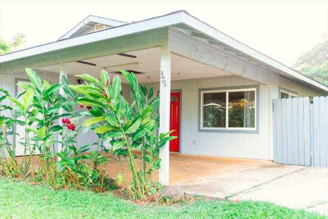 376 Eggerking Rd, Kapaa, HI 96746 (MLS #627615) :: Elite Pacific Properties