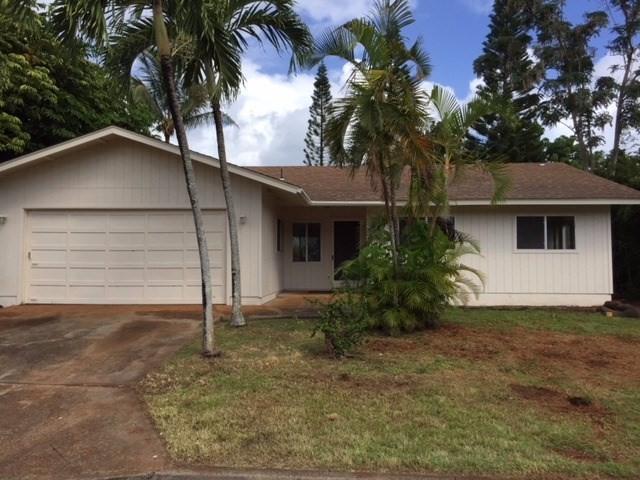 2489 Apapane St, Lihue, HI 96766 (MLS #612847) :: Kauai Exclusive Realty