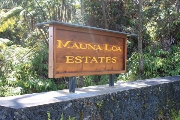 First St, Volcano, HI 96785 (MLS #618335) :: Elite Pacific Properties