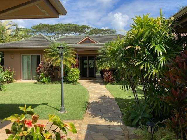 4012 Aloalii Dr, Princeville, HI 96722 (MLS #650214) :: LUVA Real Estate
