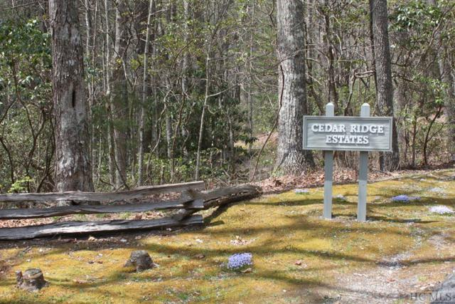 Lot 22 Wandering Ridge, Cashiers, NC 28717 (MLS #88204) :: Berkshire Hathaway HomeServices Meadows Mountain Realty