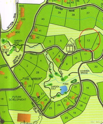 Lot 13 Trellis Lane, Cullowhee, NC 28723 (MLS #88730) :: Berkshire Hathaway HomeServices Meadows Mountain Realty