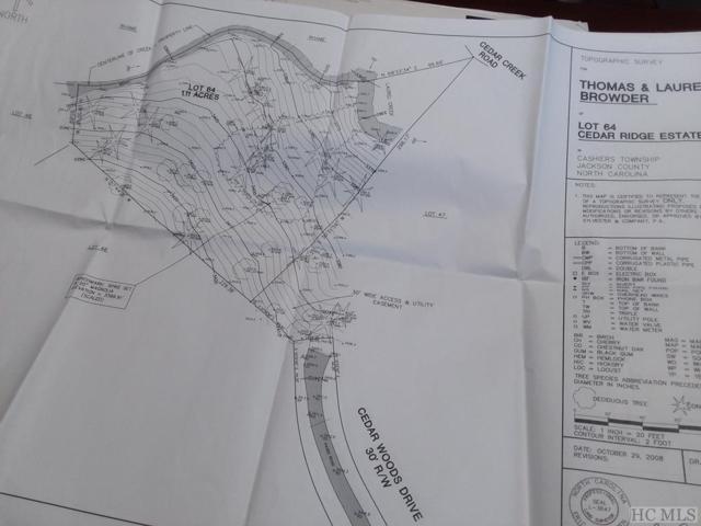 64 Rushing Brook Lane, Cashiers, NC 28717 (MLS #89208) :: Lake Toxaway Realty Co