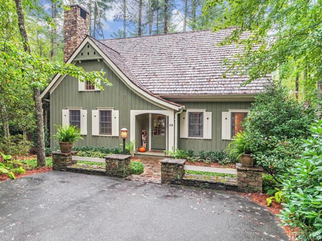 48 Arrowhead Cottage Road, Cashiers, NC 28717 (MLS #89493) :: Berkshire Hathaway HomeServices Meadows Mountain Realty