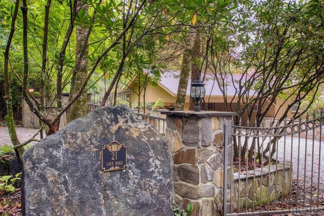 21 Cave Road, Highlands, NC 28741 (MLS #89585) :: Lake Toxaway Realty Co
