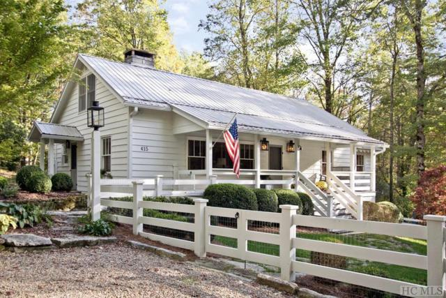 415 Mirror Lake Road, Highlands, NC 28741 (MLS #89634) :: Berkshire Hathaway HomeServices Meadows Mountain Realty