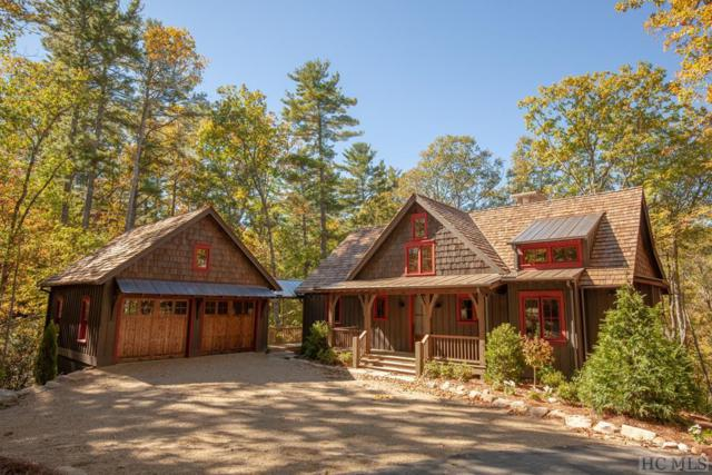158 Long Lake Trail, Sapphire, NC 28774 (MLS #89648) :: Berkshire Hathaway HomeServices Meadows Mountain Realty