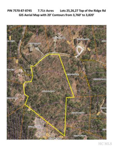 TBD Top Of The Ridge Road, Cashiers, NC 28717 (MLS #90000) :: Lake Toxaway Realty Co