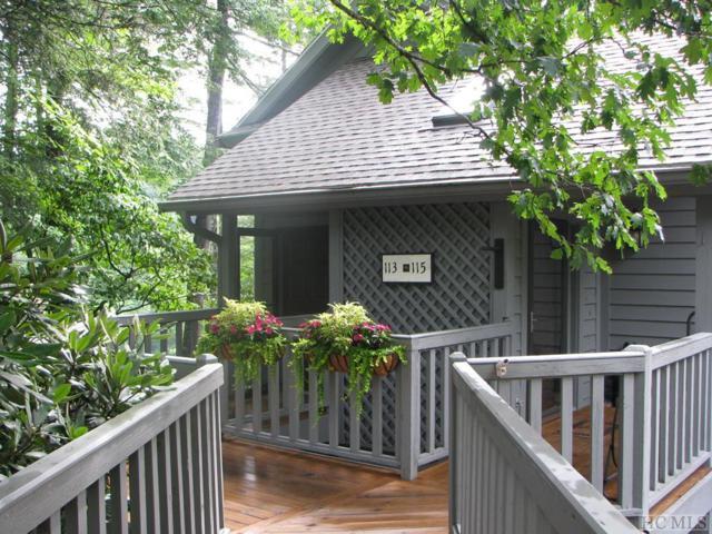 113 River Park Villas Drive #113, Sapphire, NC 28774 (MLS #91481) :: Pat Allen Realty Group