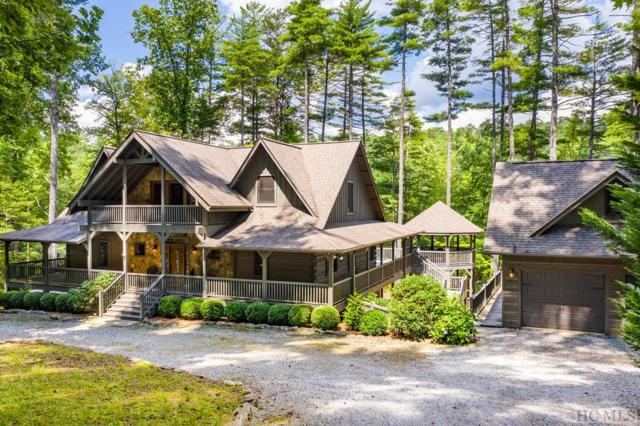 411 Whisper Winds Court, Sapphire, NC 28774 (MLS #91629) :: Berkshire Hathaway HomeServices Meadows Mountain Realty