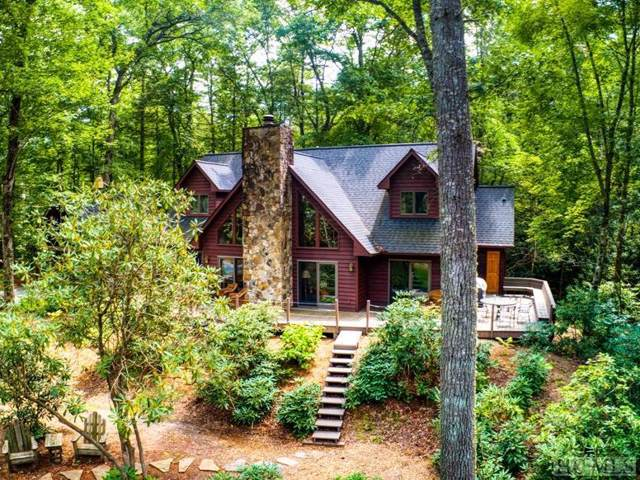 424 Cherokee Trail, Sapphire, NC 28774 (MLS #91830) :: Berkshire Hathaway HomeServices Meadows Mountain Realty