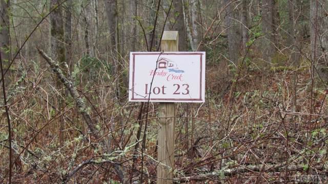 Lot #23 Bunker Hill Lane, Cashiers, NC 28736 (MLS #92292) :: Berkshire Hathaway HomeServices Meadows Mountain Realty