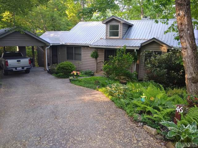 46 Poplar Court, Sapphire, NC 28774 (MLS #92725) :: Berkshire Hathaway HomeServices Meadows Mountain Realty