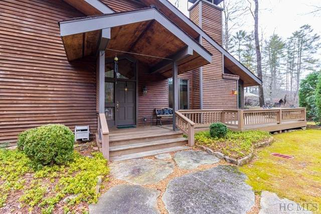 9 Old Prestwick Drive, Sapphire, NC 28774 (MLS #92841) :: Berkshire Hathaway HomeServices Meadows Mountain Realty