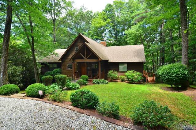 343 Woodland Hill Drive, Highlands, NC 28741 (MLS #92894) :: Berkshire Hathaway HomeServices Meadows Mountain Realty