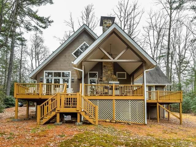 1580 Fairway Drive, Lake Toxaway, NC 28747 (MLS #93156) :: Pat Allen Realty Group