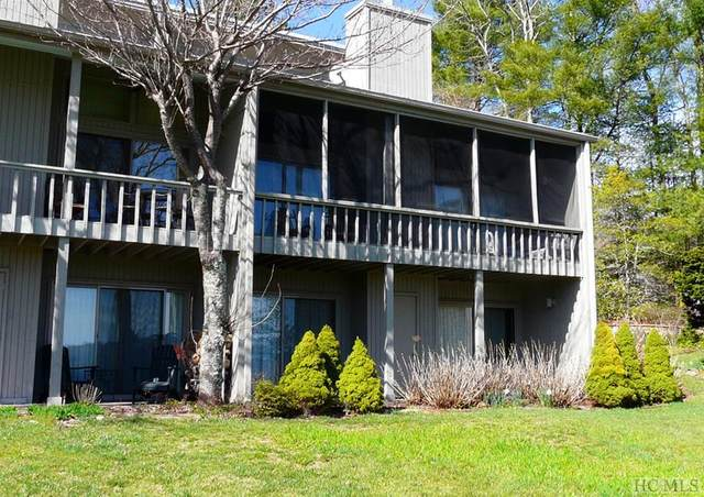 24 E Toxaway Shores #21, Lake Toxaway, NC 28747 (MLS #93166) :: Berkshire Hathaway HomeServices Meadows Mountain Realty