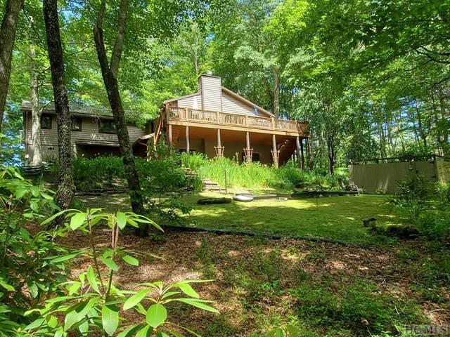 1101 Ell Ridge, Glenville, NC 28736 (MLS #93332) :: Pat Allen Realty Group