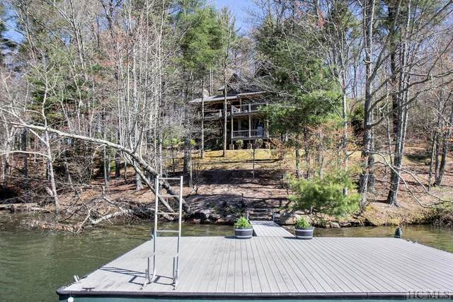 14 Buck Knob Island, Glenville, NC 28736 (MLS #93501) :: Berkshire Hathaway HomeServices Meadows Mountain Realty