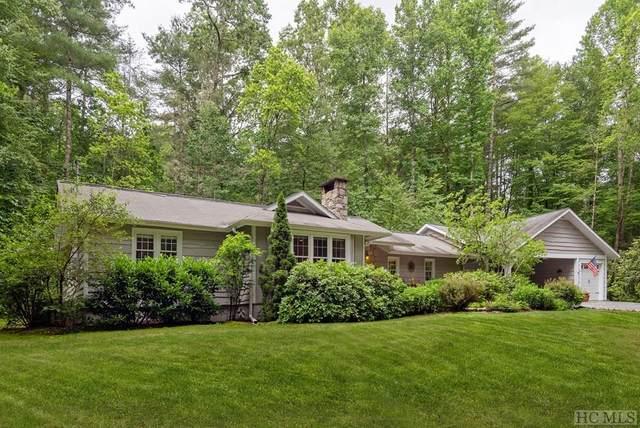 166 Laurel Creek Lane, Sapphire, NC 28774 (MLS #93839) :: Berkshire Hathaway HomeServices Meadows Mountain Realty
