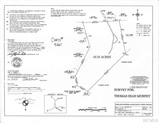 TBD Queen Mountain Road, Highlands, NC 28741 (MLS #94318) :: Pat Allen Realty Group