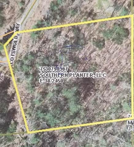 Lot 9 Cotswolds Way, Highlands, NC 28741 (MLS #94592) :: Berkshire Hathaway HomeServices Meadows Mountain Realty