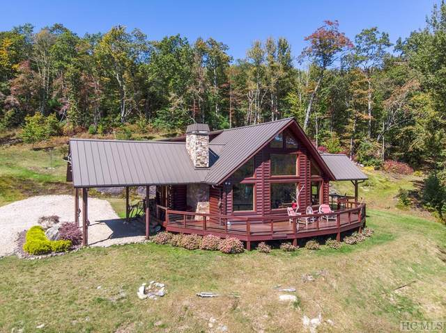 694 Flat Creek Drive, Glenville, NC 28736 (MLS #94877) :: Berkshire Hathaway HomeServices Meadows Mountain Realty