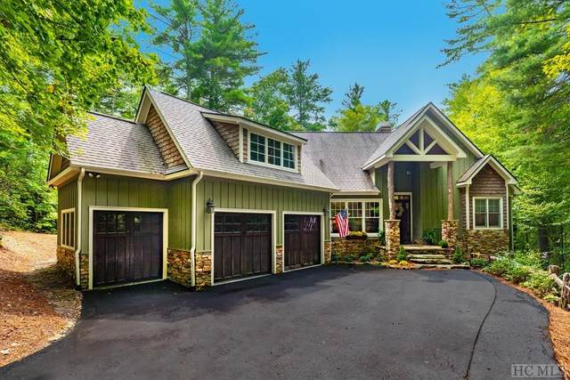 101 Rexwood Lane, Sapphire, NC 28774 (MLS #95083) :: Berkshire Hathaway HomeServices Meadows Mountain Realty