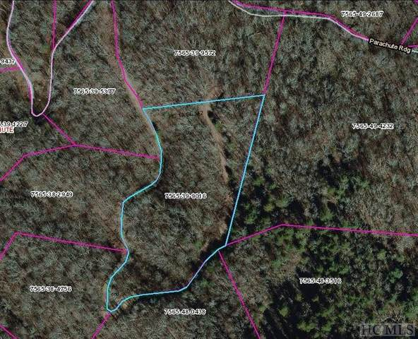 Lot 68B Parachute Ridge, Glenville, NC 28736 (MLS #96027) :: Berkshire Hathaway HomeServices Meadows Mountain Realty