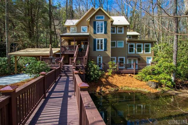 410 Upper Lake Road, Highlands, NC 28741 (MLS #96141) :: Berkshire Hathaway HomeServices Meadows Mountain Realty