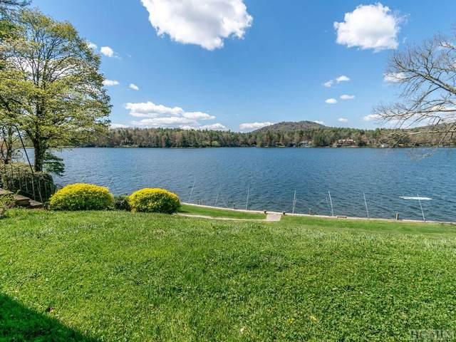 68 Toxaway Point #1, Lake Toxaway, NC 28747 (MLS #96250) :: Pat Allen Realty Group