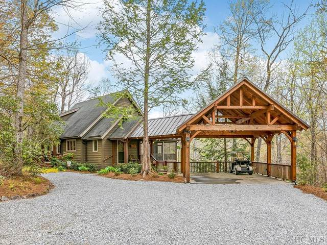 175 Deep Ford Falls, Lake Toxaway, NC 28747 (MLS #96294) :: Berkshire Hathaway HomeServices Meadows Mountain Realty