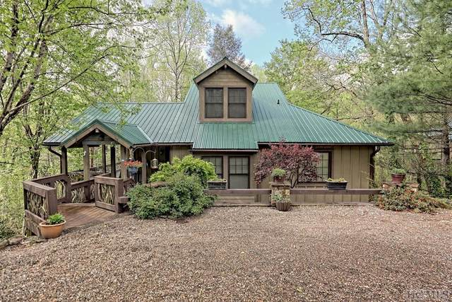 45 Indian Falls Way, Lake Toxaway, NC 28747 (MLS #96427) :: Berkshire Hathaway HomeServices Meadows Mountain Realty