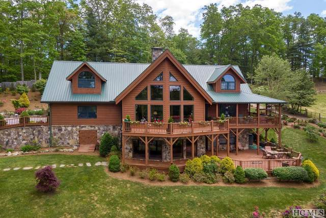231 Hare Hollow Road, Glenville, NC 28736 (MLS #96435) :: Berkshire Hathaway HomeServices Meadows Mountain Realty