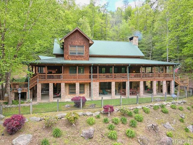 580 Natural Bridge Road, Scaly Mountain, NC 28775 (MLS #96495) :: Berkshire Hathaway HomeServices Meadows Mountain Realty