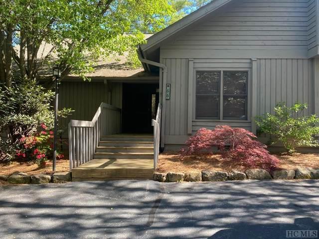66 Racquet Club Villas Drive, Sapphire, NC 28774 (MLS #96499) :: Pat Allen Realty Group