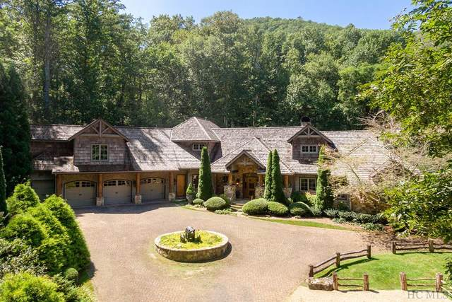574 Cherokee Trail, Sapphire, NC 28774 (MLS #96601) :: Berkshire Hathaway HomeServices Meadows Mountain Realty