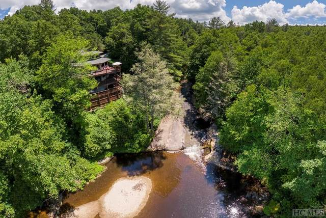 97 Twin Kettle Falls, Glenville, NC 28736 (MLS #97062) :: Berkshire Hathaway HomeServices Meadows Mountain Realty